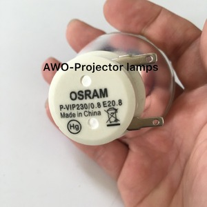 Image 1 - New Bare Bulb Lamp P VIP 230/0.8 E20.8  For ACER BenQ Optoma VIEWSONIC Projectors