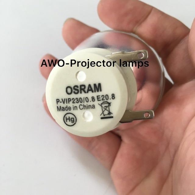 New Bare Bulb Lamp P VIP 230/0.8 E20.8  For ACER BenQ Optoma VIEWSONIC Projectors
