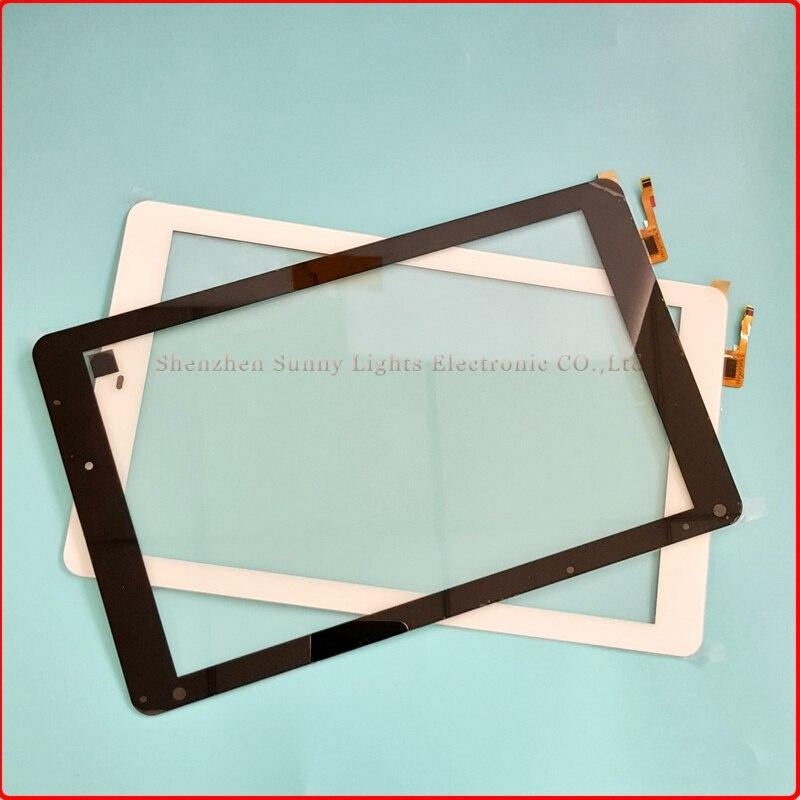 Nouveau pour 10.1 ''pouces flylife connect 10.1 3g 2 tablette écran tactile panneau numériseur capteur réparation pièces de rechange livraison gratuite