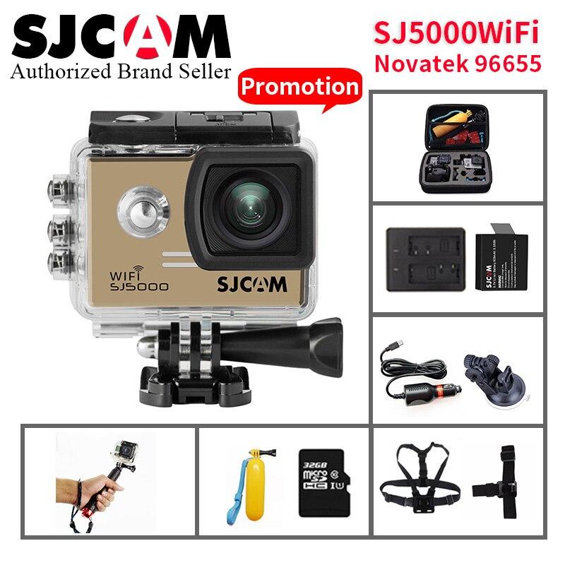 Hell Original Sjcam Sj5000 Wifi 14mp H.264 1080 P Sport Action Kamera 30 M Wasserdichte Sport Dv Mini Camcoder Vs Sj8 Pro Yi 4 K Camara Perfekte Verarbeitung Unterhaltungselektronik