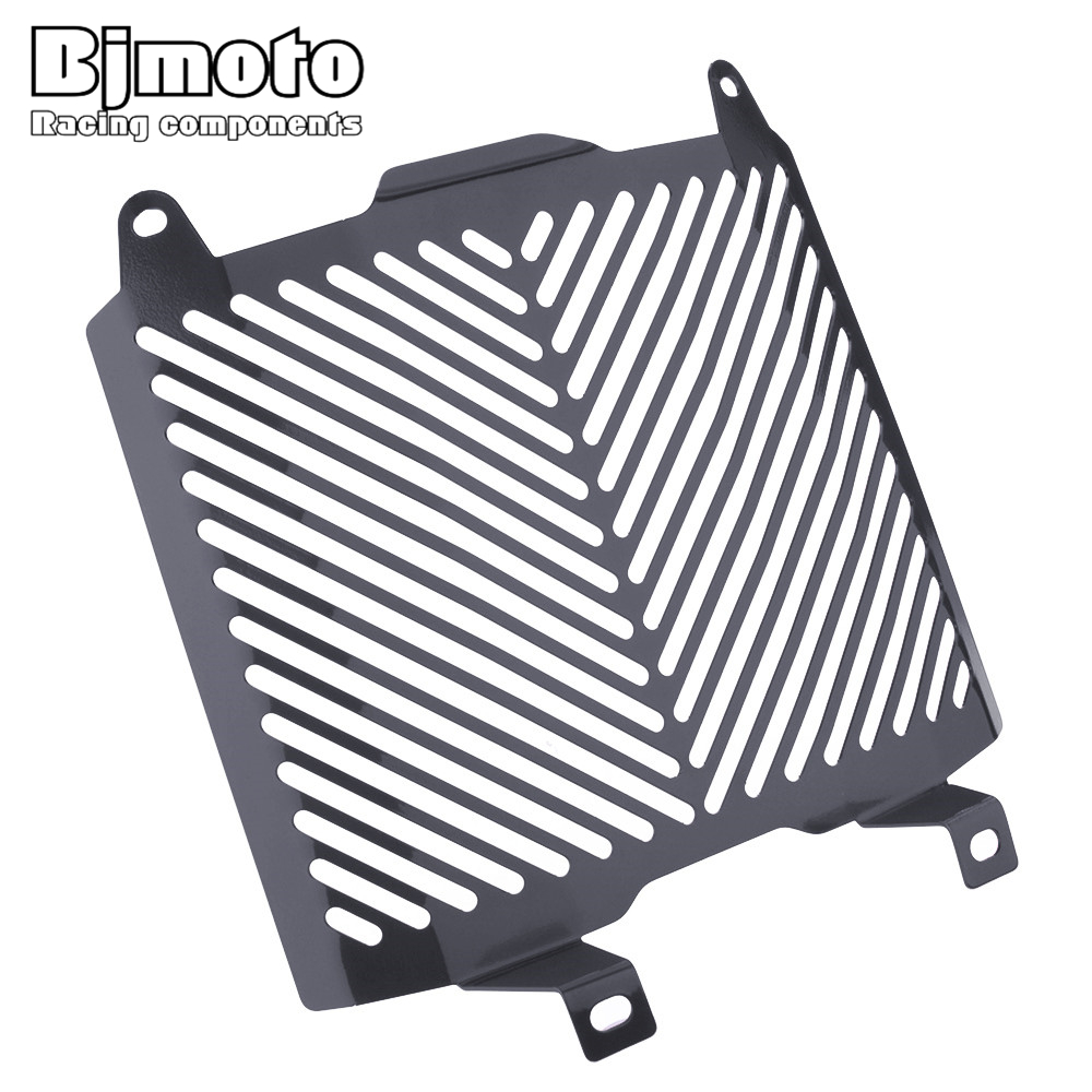 BJMOTO Aluminum Motorcycle Radiator Protection Water Tank Guard Grille Grill Cover For KTM Duke 690/690R 2012-2017 racing grills version aluminum alloy car styling refit grille air intake grid radiator grill for kla k5 2012 14