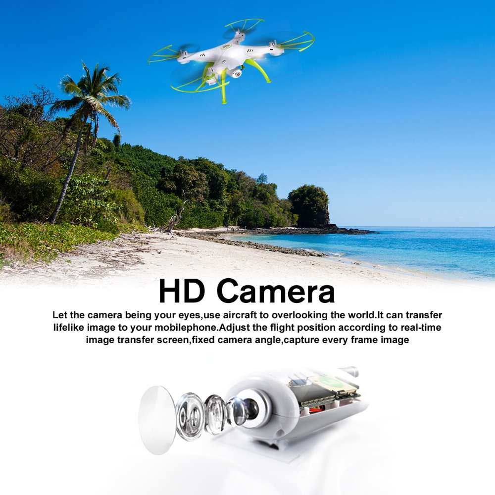 SYMA X5HW Drone With Camera HD Wifi FPV Selfie Drone Drones Quadrocopter RC Helicopter Quadcopter RC Dron Toy (X5SW Upgrade) 6