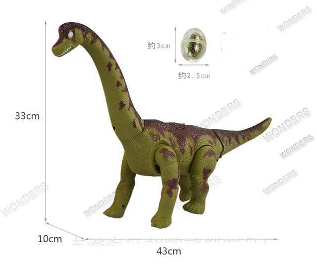 New Electric toy large size walking dinosaur robot With Light Sound Brachiosaurus Battery Operated kid Children Boy Girl Gift