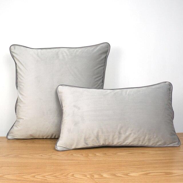כריות קטיפה לסלון או חדר השינה 1