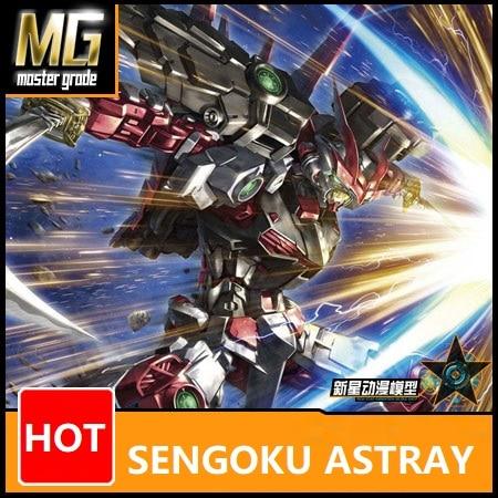 Japaness Original Gundam MG 1/100 Model  SENGOKU ASTRAY Gundam NINJAR SEED Mobile Suit Kids Toys With Holder