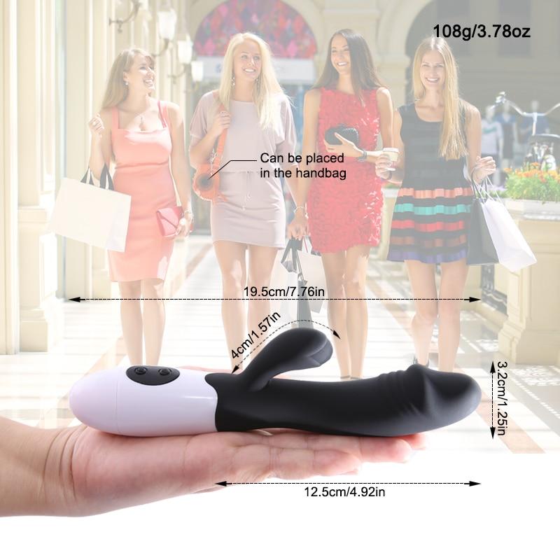 Jouets sexuels pour femmes 30 vitesse G Spot lapin double gode vibrateur Clitoris Stimulation vaginale femelle masturbateur orgasme jouets érotiques 3
