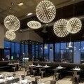 Промышленный чердак железный шар Искрящийся подвесной светильник LED G4 современный скандинавский подвесной светильник для гостиной лобби о...