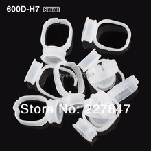 50pcs Small Size Disposable Glue Tattoo Ink Holder Rings Container Pigments Holder Ring