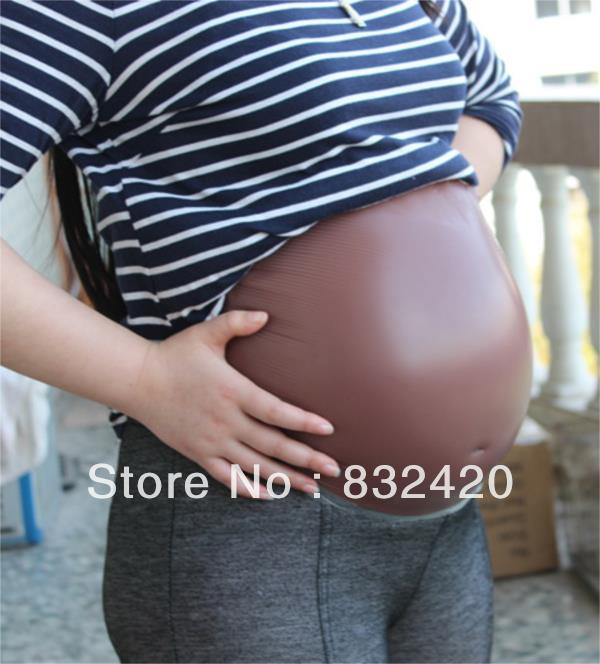 Colore nero molto grande silicone artificiale per neonati pancia bump twins dimensione gravidanza incintaColore nero molto grande silicone artificiale per neonati pancia bump twins dimensione gravidanza incinta