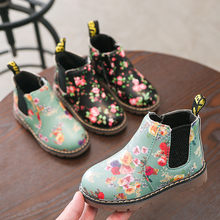 Children Fashion Boys Girls Martin Sneaker Winter Thick Snow Baby Casual Shoes botas invierno baby shoes girls snowboot(China)