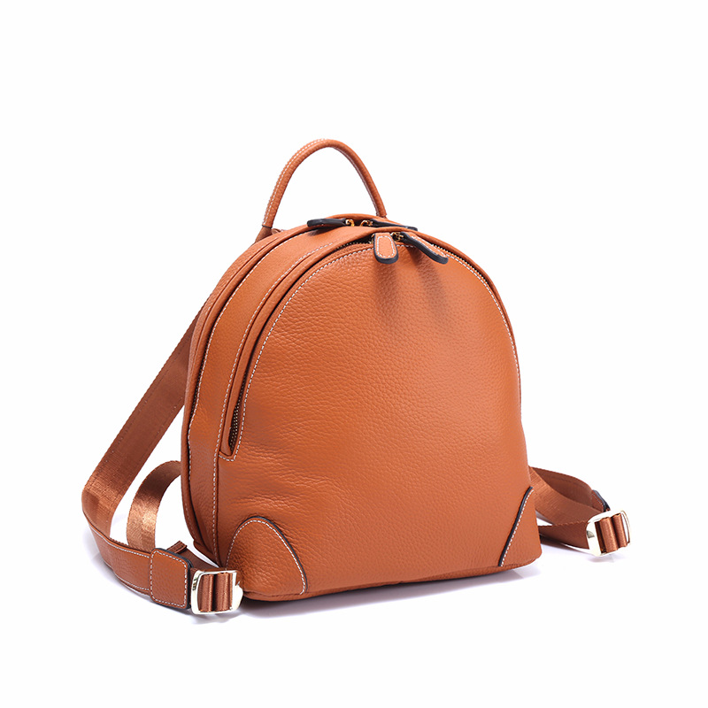 Fashion 100% Real Soft Genuine Leather Women Backpack Female Popular School Preppy Style Ladies Mini Bag Girls Mochilas Mujer mochilas designer genuine leather bag mochila ciclismo preppy style multifunction men canvas bag fb1125