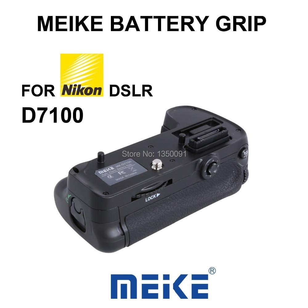 Meike support de prise en main de batterie verticale MK D7100 pour Nikon D7100