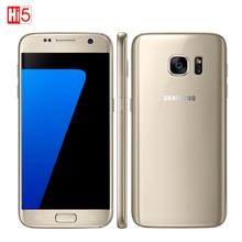 """Débloqué samsung galaxy s7/s7 edge mobile téléphone 4 gb ram 32 GB ROM Quad Core NFC WIFI GPS 5.1 """"/5.5"""" 12MP 4G LTE d'empreintes digitales"""