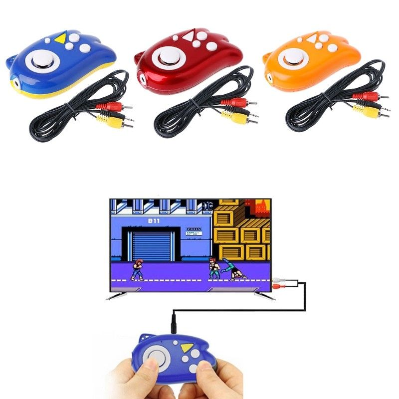 Plug and Play Handheld TV 8-Bit Video Game Console Player for NES games Built In 89 Games Classic