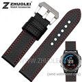 Os recém-chegados 26mm pulseira para Derek Garmin Fenix Fenix3 relógios com 3 de fibra de carbono à prova d' água watchstrap econômicos com 2 pcs ferramentas