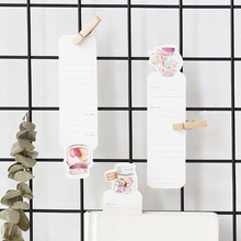 30 pcs/box creative Sugar heart Parties paper bookmark stationery bookmarks book holder message card school supplies papelaria