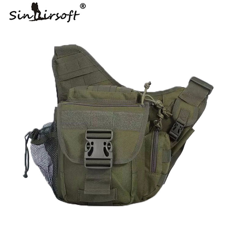 Fanny Pack Jumbo Bag Versipack Sling Single Shoulder Messeger Bags Saddle Bag Unisex Tactical Hunting Multicamouflage Solid