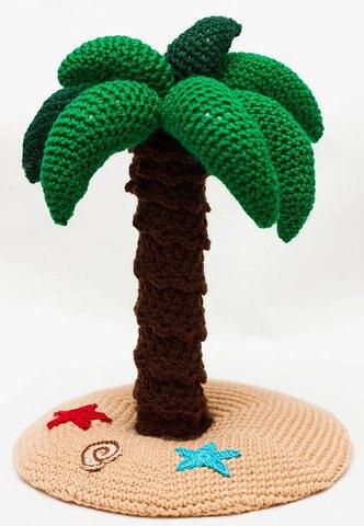 palmeira crochet chocalho decoracao do quarto do bebe