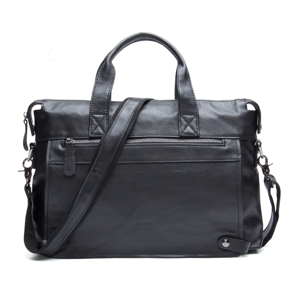 Men Business Genuine Leather Briefcase Fashion Messenger Crossbody Bag Laptop Handbags Shoulder Bag Tote for Men chispaulo 14 inch genuine leather men bag men s travel bags tote business laptop crossbody fashion men s briefcase shoulder t745