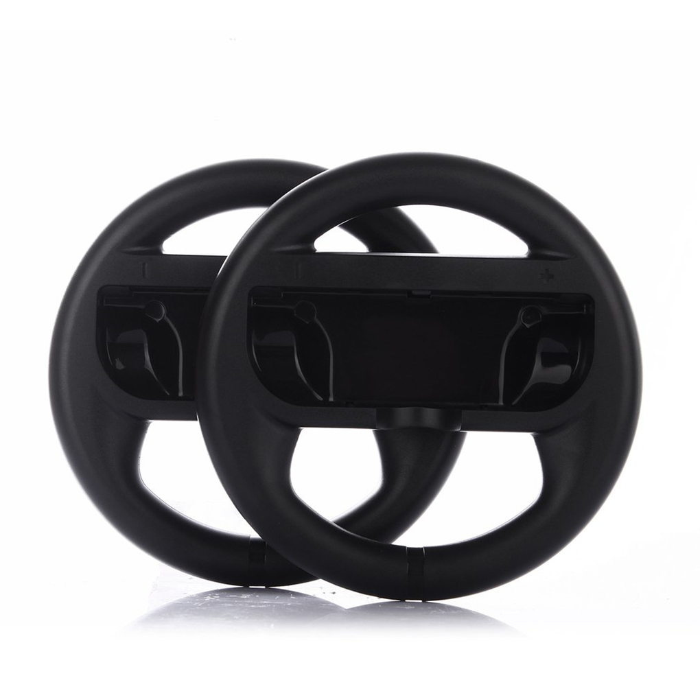 2Pcs Racing Game Steering Wheel Remote Control Gaming Wheels for Nintendo for Switch NS Controller Holder