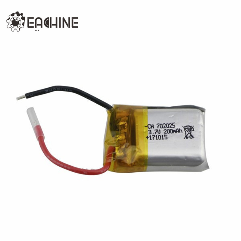 Original Eachine E59 3.7V 200MAH Battery RC Drone Quadcopter Spare Parts High Quality Mini Dron Accessories jjrc h47 eachine e56 rc quadcopter spare parts gravity transmitter tx remote controller control for selfie drone accessories