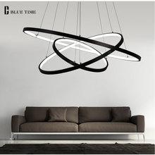 Modern LED Pendant Lamp Plafond LED Pendant Lights Circle Rings For Living room Dining room Bedroom Hanging lamp Light Fixtures