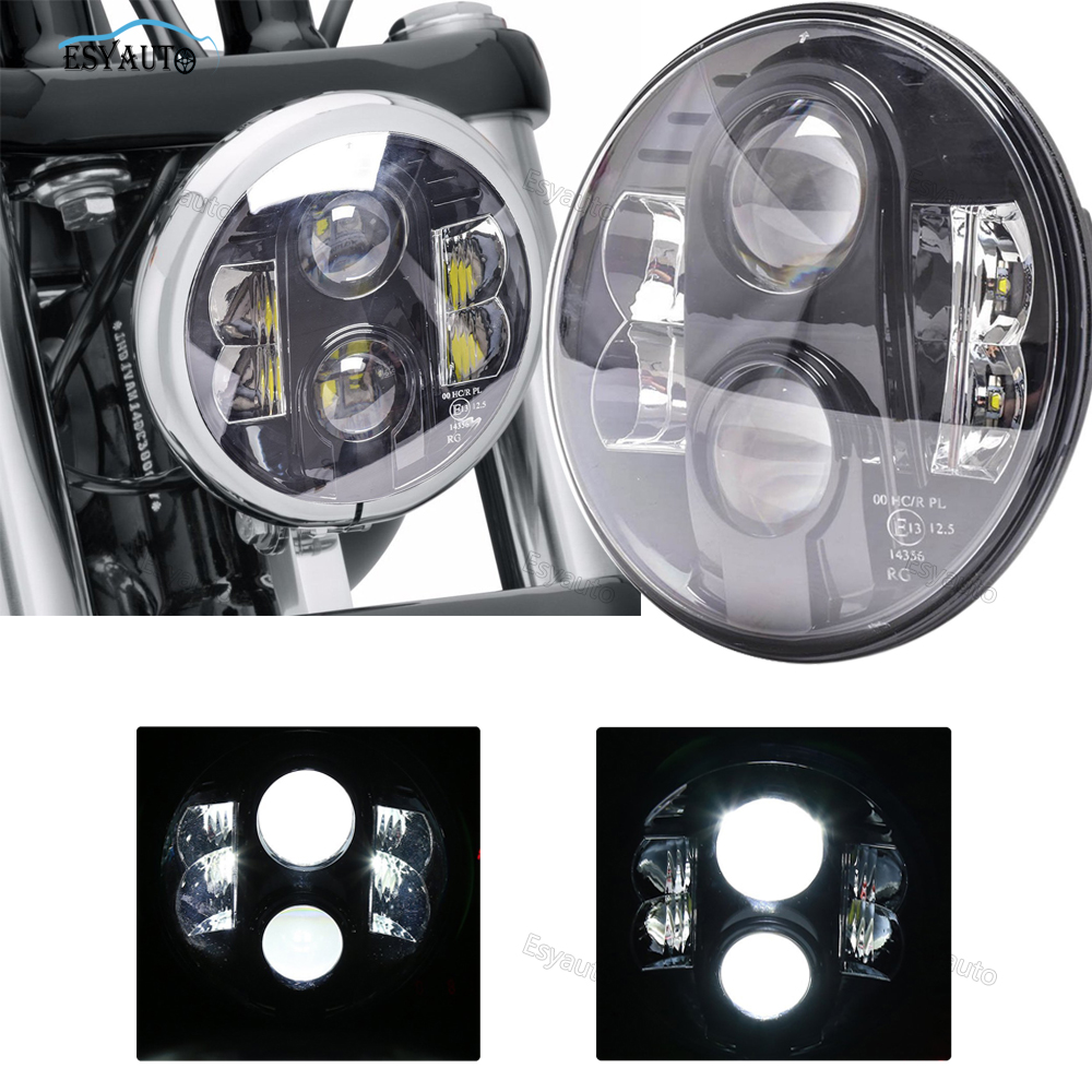 E13 Certification 7inch 80W Super Quality Headlamp Approved CE/DOT/EMARK High/Low Beam Headlight For Jeep Wrangler
