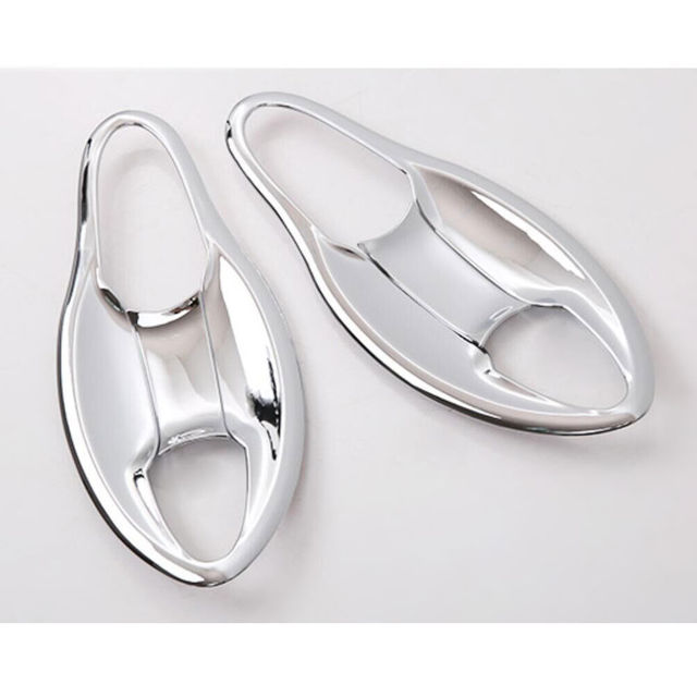 BBQ@FUKA 4Pcs ABS Chrome Car styling Front Door Handle Bowl Cover Trim For honda  sc 1 st  AliExpress.com & BBQ@FUKA 4Pcs ABS Chrome Car styling Front Door Handle Bowl Cover ...