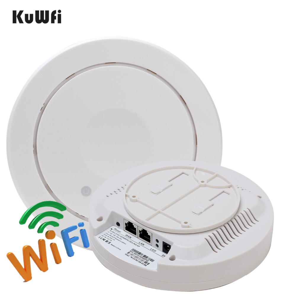 UK Store 300Mbps Wireless Ceiling AP WIFI Router Indoor WIFI Repeater Wifi Extender Access Point 5dBi antenna Support VLAN totolink n600r 600mbps wifi router access point wifi repeater 4pcs of 5dbi antennas high power router english firmware