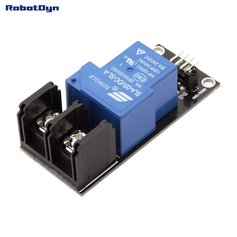 Relay Module 1 relay, operation 5V. VC - 30A 250VAC/30VDC ...
