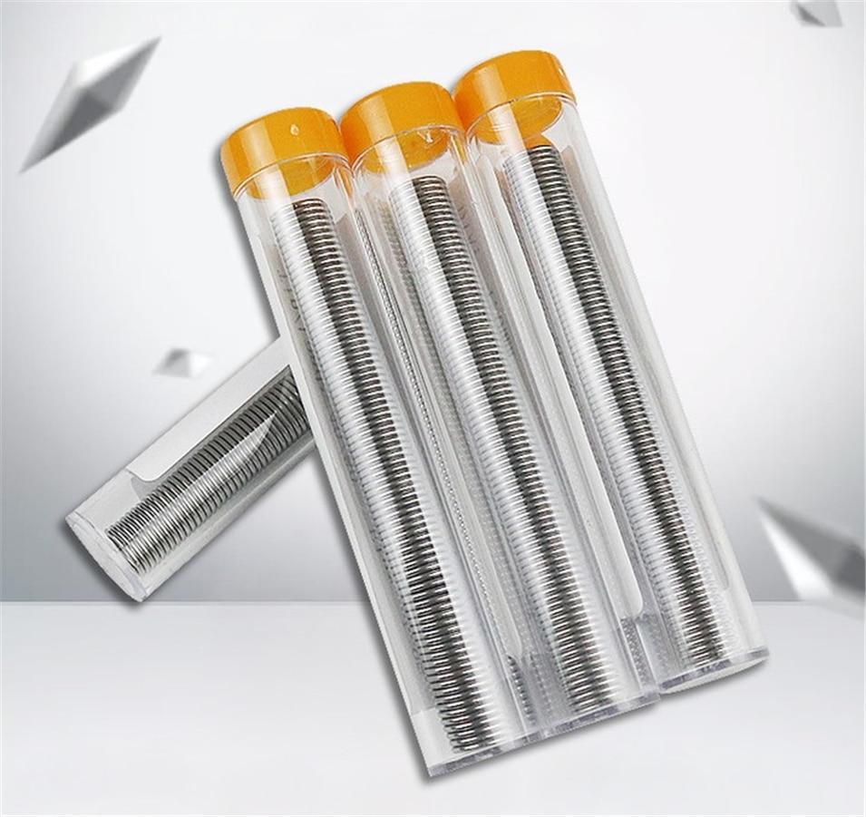 3pcs 1.0mm 40/60 Tin/Resin Flux Rosin Core Solder Soldering Wire & Pen Tube Dispenser Tin Lead Core Soldering Wire Tool No Wash