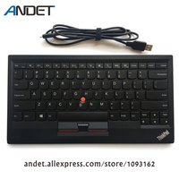 Genuine Original Lenovo ThinkPad Compact Bluetooth Wireless US Keyboard 0B47189 with USB Charge Trackpoint for Tablet PC Laptop