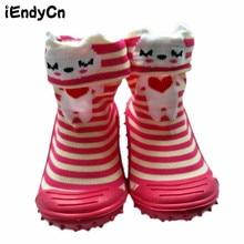 Baby Girl Boy Sock with Animal Rubber Soles Socks  Socks Floor Non-slip Bottom Lightweight Character Cotton baby Sock  YD516 цены онлайн