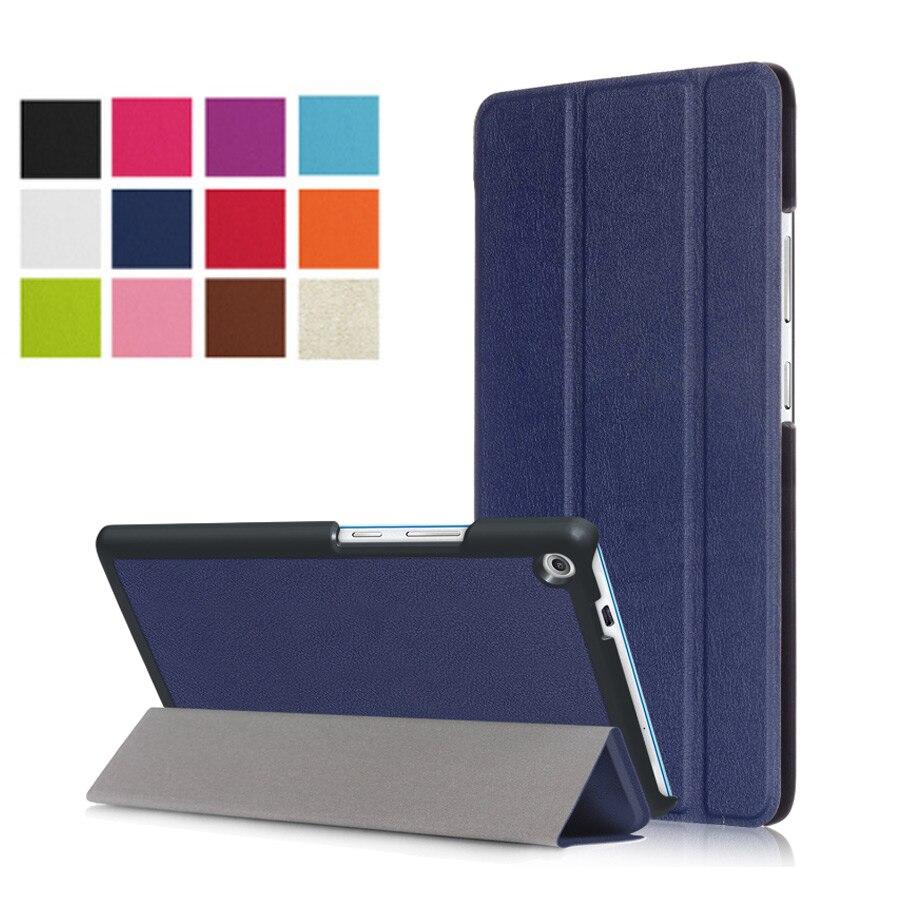 Magnet stand Pu leather case cover For Lenovo TAB3 Tab 3 7 Plus 7703 7703x TB-7703X TB-7703F 7.0 funda Case +Film+ Stylus Pen