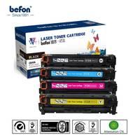 Befon Brand Set Of CE310A CE311A CE312A CE313A For HP126A Compatible Toner Cartridge For HP LaserJet