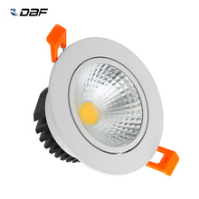 [DBF]LED Ceiling Lamp Dimmable COB LED Downlight 6W 9W 12W 15W LED Spot light Cold White/Natural White/Warm White AC85V-265V