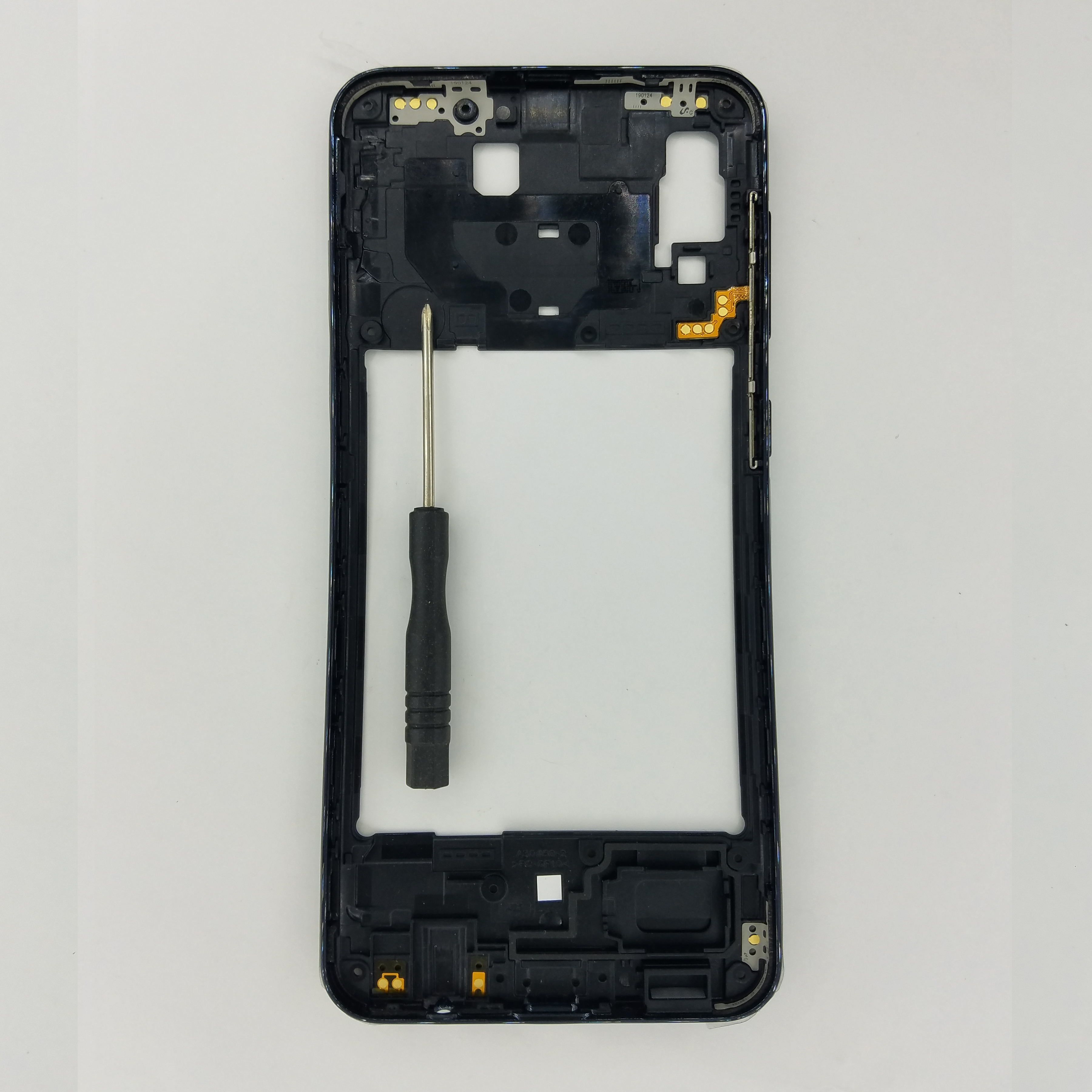 For Samsung Galaxy A30 A305 A305F A305FN A305G A305GN Phone New Side Housing Middle Frame Center Chassis With Buttons + Tools