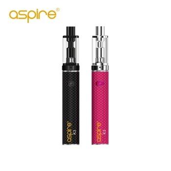 Aspire K3 – Cigarette électronique, Kit de démarrage, capacité de 2ml, Style stylo, tout-en-un, batterie de 1200mah, avec bobine nautilus BVC de 1,8 ohm