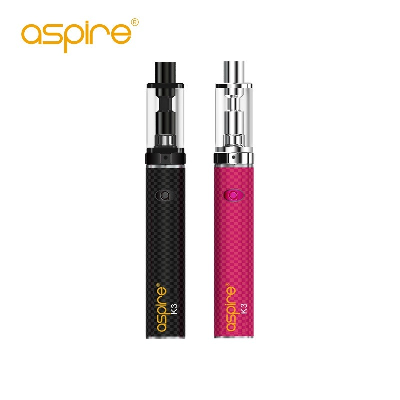 Pen Style Aspire K3 Quick Start Kit (2ML K3 Tank 1.8ohm Kanthal Coil 1200Mah K3 Battery) Ecigs Aspire K3 Starter Kit