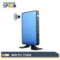 2017 Newest Atom Z8300 Quad Core Mini PC Windows 10 Linux Ubuntu 2G RAM 32G SSD Vmware Citrix Thin Client VGA HDMI Cheap Cost