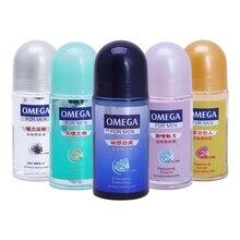 Rodillo cuerpo refrescante antitranspirante limpiador desodorante axila quitar para hombres