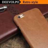 Case For Samsung Galaxy S8 Plus Genuine Leather Cover For Iphone 7 6S Cases Retro Corium