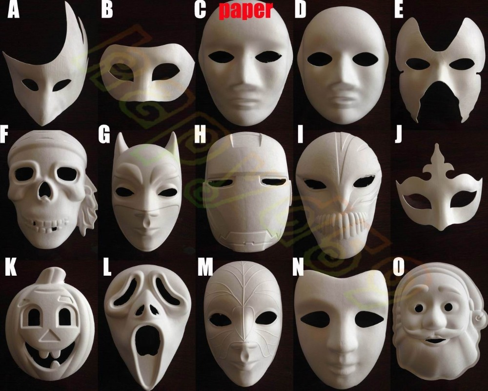 Popular Full Face White Mask-Buy Cheap Full Face White Mask lots ...