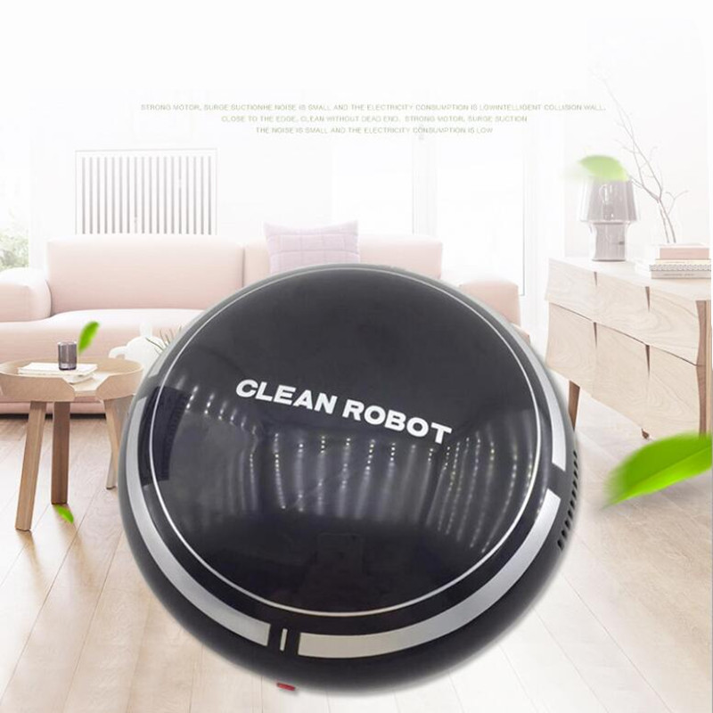 MINI rechargebale Sweep Robot USB Vacuum Cleaner Automatic Floor Cleaning machine Dust Collector Sweeper home office car