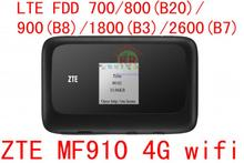 Unlocked ZTE MF910 LTE 4G WIFI Router 4G wifi dongle Mobile Hotspot 150Mbps Network Router pk mf95 mf920 mf823 mf90 mf93(China)