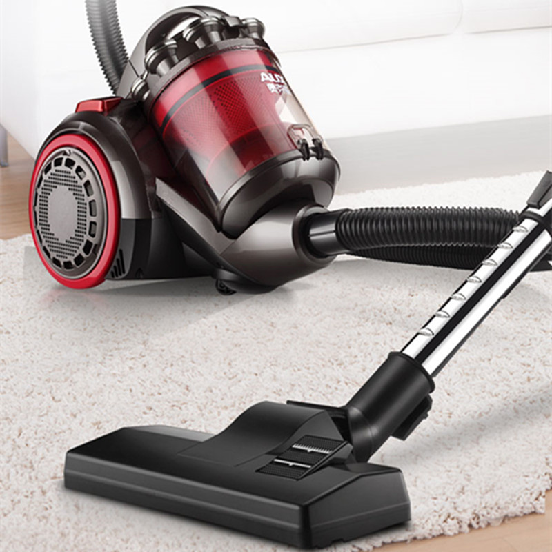 jiqi vacuum cleaner handheld electric suction machine rod drag sweeper household powerful carpet aspirator dust collector eu us 220V Household Handheld Electric Vacuum Cleaner Whirlwind Type Large Suction Capacity Powerful Aspirator 3L Dust Box EU/AU/UK
