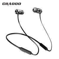 CBAOOO C10 Bluetooth наушники беспроводные стерео гарнитура, наушники Спорт bluetooth-наушник наушники Hifi Bass Hands-free с микрофоном