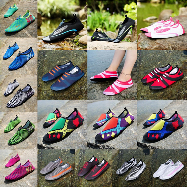 Womens Shoes Summer Fitness Shoes Swimming Beach Shoes For Men Breathable Soft Sandal Unisa
