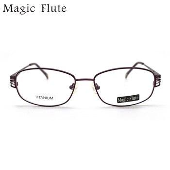 Новое поступление титановый светильник, оптические оправы, очки, полная оправа для женщин, модные очки по рецепту DBF19
