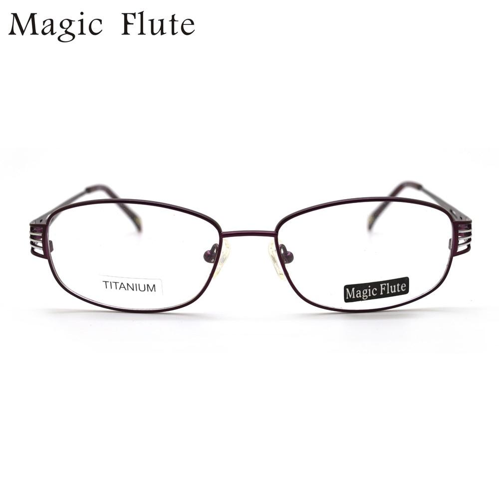 Bekleidung Zubehör Hell 2017 Neue Ankunft Titan Licht Optische Rahmen Brillen Vollformat Für Frauen Art Und Korrektionsbrillen Dbf19
